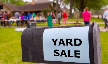 April 5 & 6 Community Yard Sale